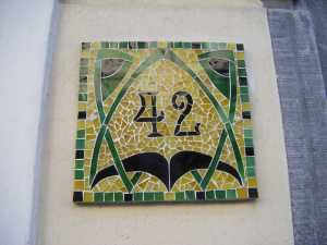 42 as art nouveau
